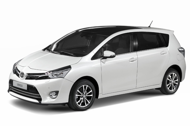 Toyota Verso – Front View