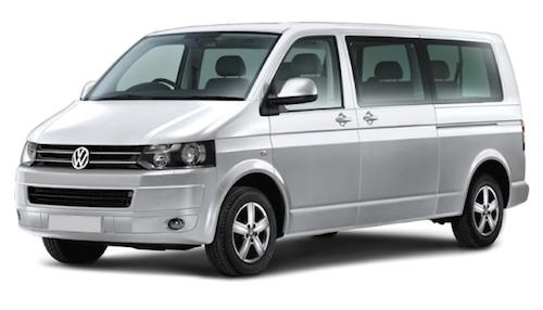 VW Shuttle 9 Seater Cars