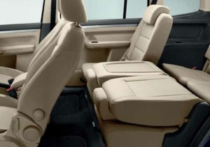 VW Touran Interior Seating