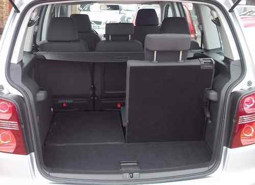 Volkswagen Touran Boot Area