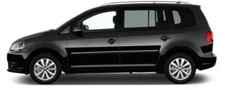 Volkswagen Touran Black Side View